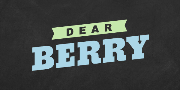 Dear Berry: Birthday calendar issue