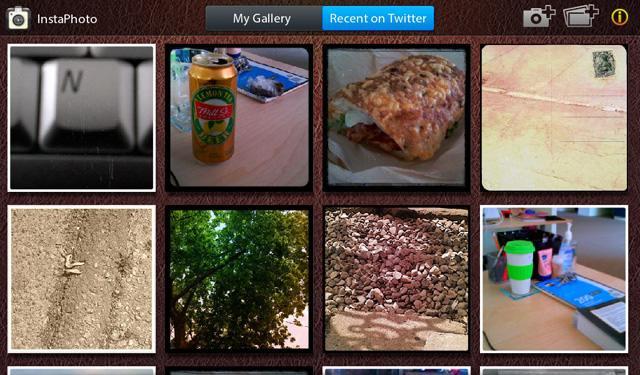 InstaPhoto for BlackBerry PlayBook