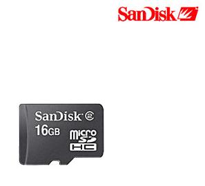 Sandisk 16GB microSD Card