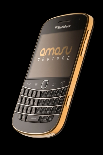 Gold Plated BlackBerry Bold 9900