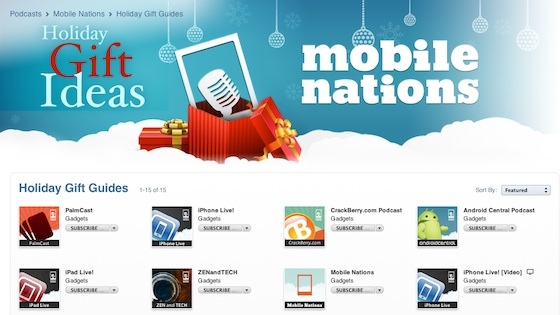 Mobile Nations on iTunes, Mobile Nations Enterprise launched tomorrow!