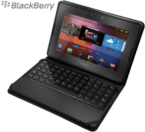 Bluetooth Keyboard case for the BlackBerry PlayBook