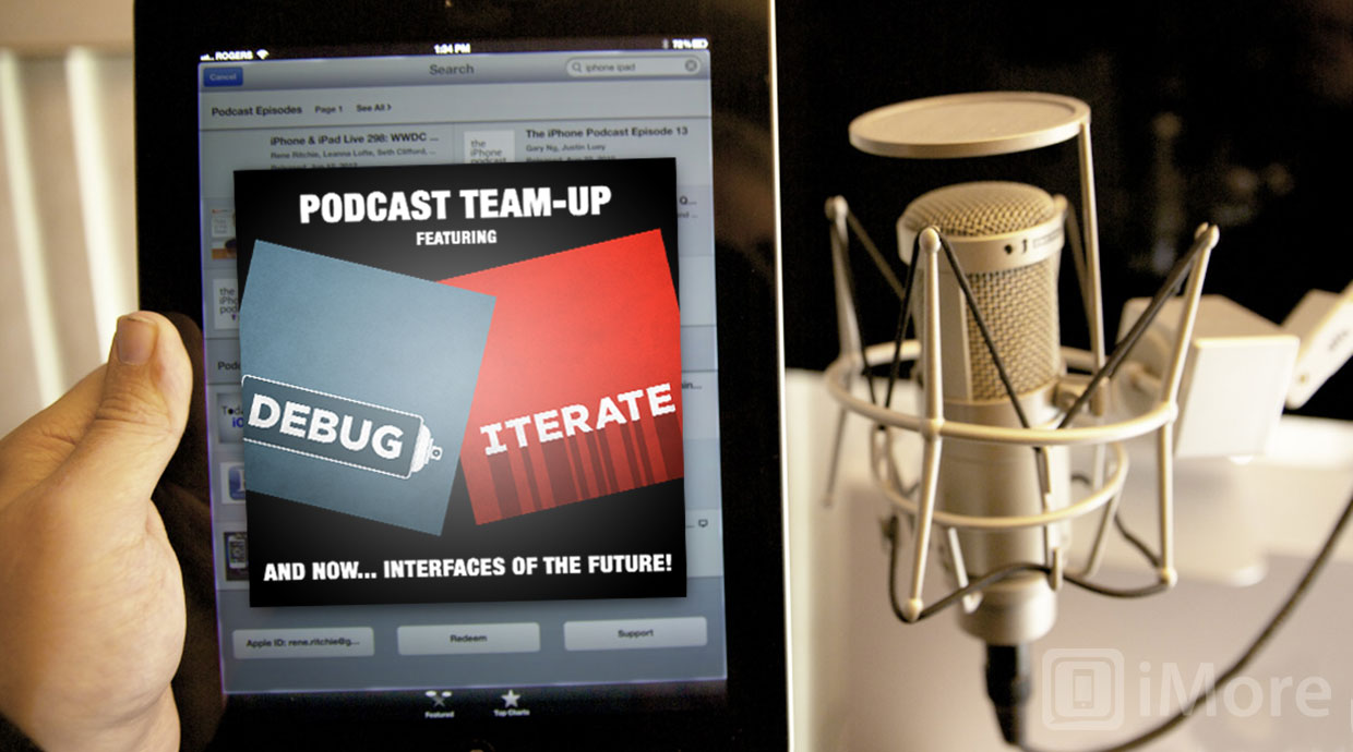 Debug & Iterate team-up podcast: The future of human interface