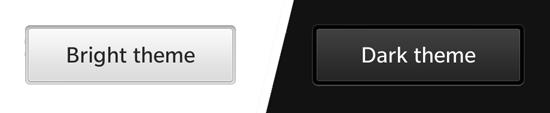 Z10 gets the white theme, Q10 gets a dark theme
