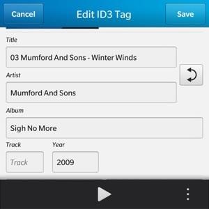 ID3IOT tag edit