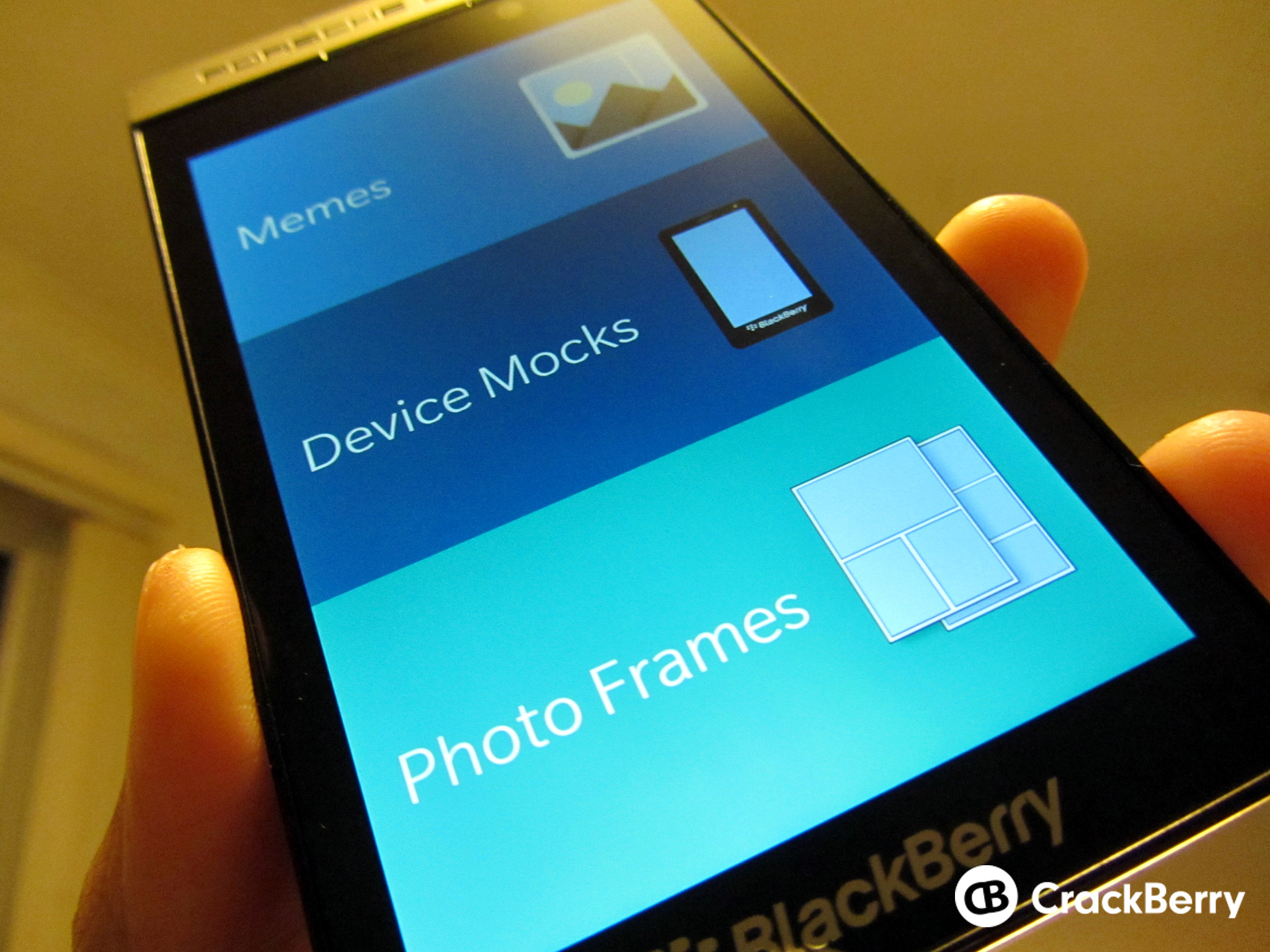 Photo frames and app settings now available in the latest MockIt beta update