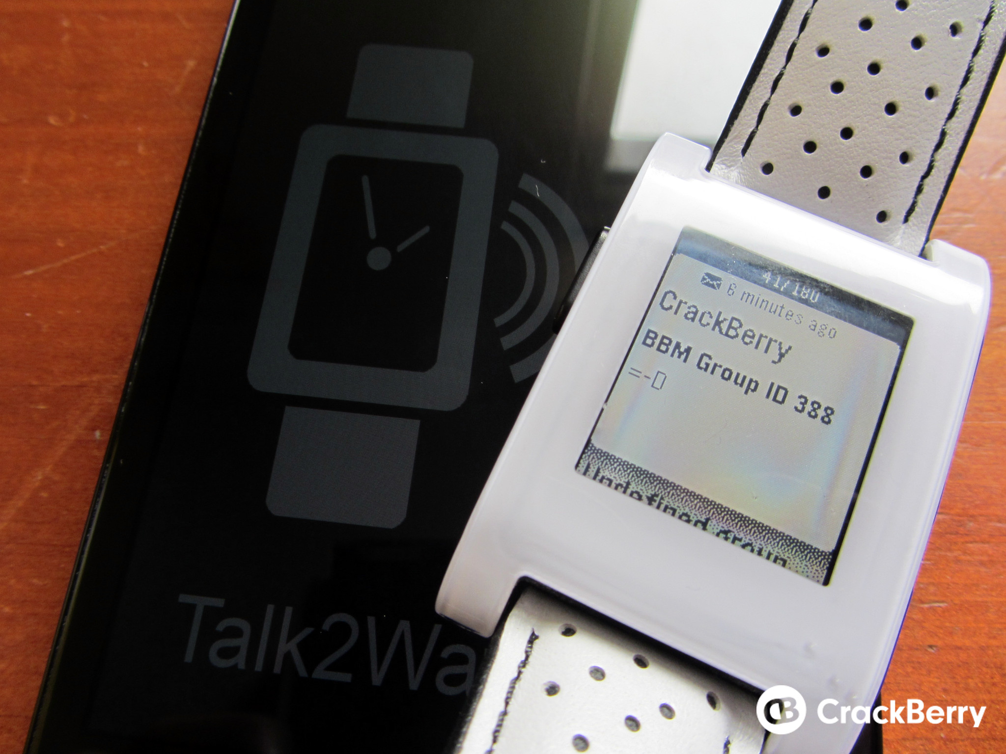 Talk2Watch Pro adds BBM Contact Manager to latest update