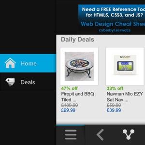 Shopping for eBay menu