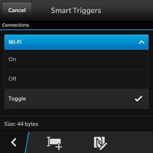 Smart Tags Wi-Fi Trigger
