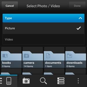 Upload to Flickr - choose files