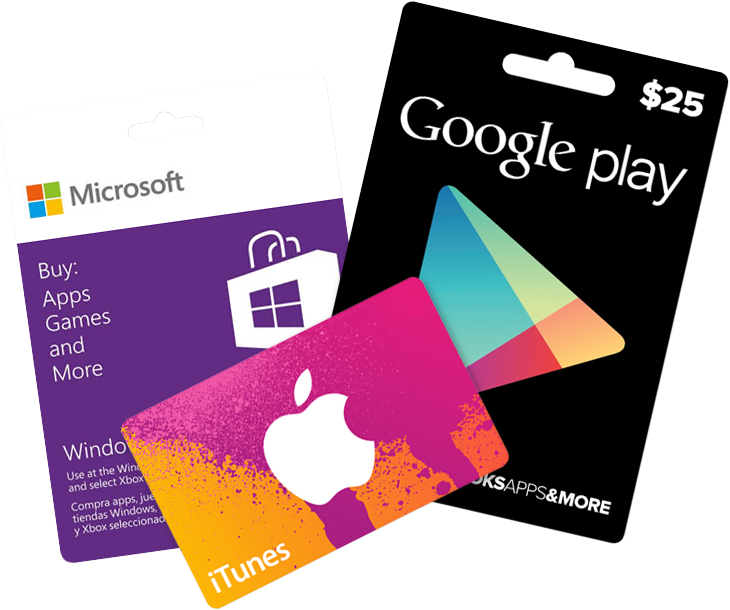 App store gift cards