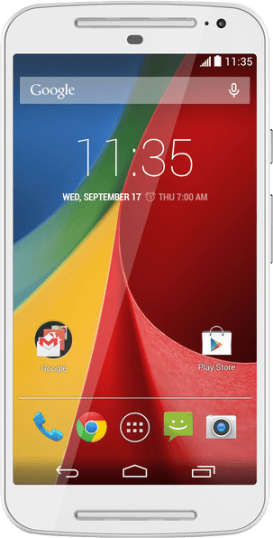 The 2014 Moto G, one of the best Android phones