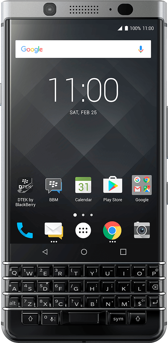BlackBerry KEYone Review – Pushes All The Right Buttons key1front