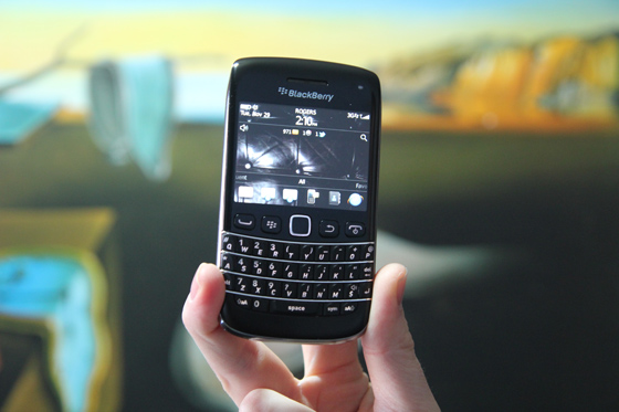 There's no sense wasting time - if you want a BlackBerry 7 phone, buy it now!