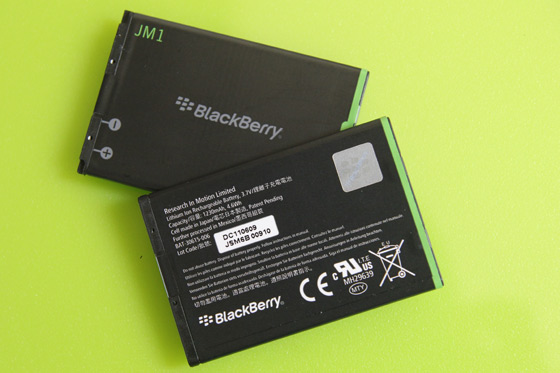 BlackBerry Bold 9900 Battery Life