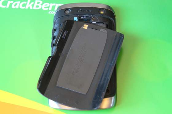 BlackBerry Curve 9380 NFC