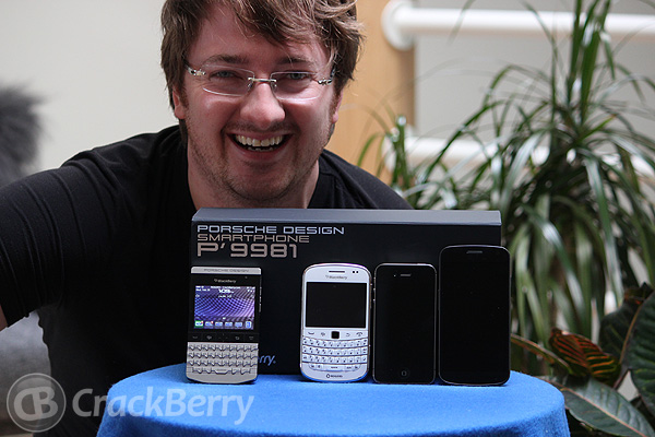 Get a BlackBerry P'9981 for the cost of a Bold 9900, iPhone 4S and Galaxy Nexus!