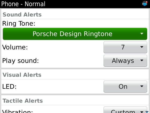 Porsche Design Ringtone