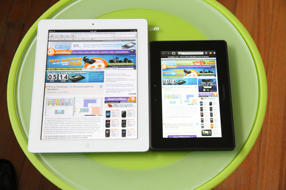 BlackBerry PlayBook Review | CrackBerry com