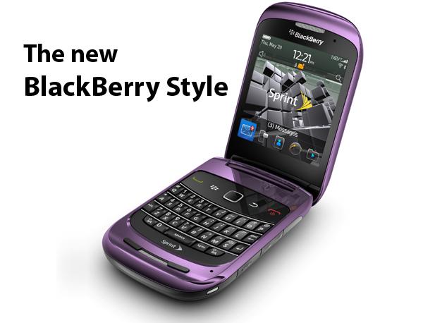 BlackBerry Style 9670 Sprint