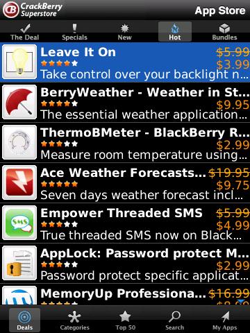 CrackBerry App Superstore