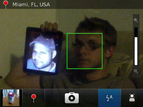 BlackBerry 6 - Camera