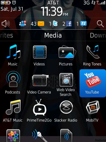 BlackBerry 6 Multimedia