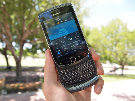 BlackBerry 6 on the BlackBerry Torch 9800