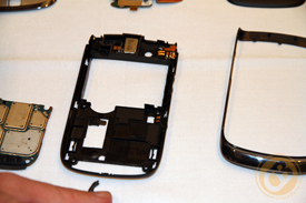 BlackBerry Torch 9800 component housing