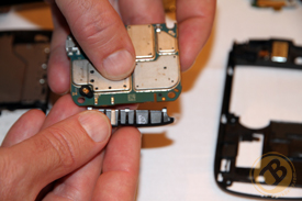 Attaching the Torch's antenna to the main board