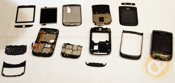 BlackBerry Torch 9800 Teardown
