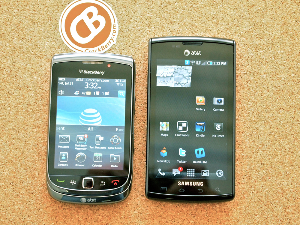 First look RIM s BlackBerry Torch could light your fire