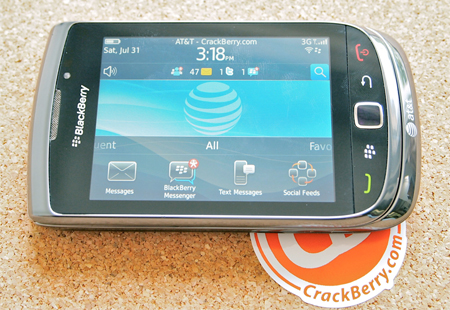 BlackBerry Torch 9800 Image and Photo Gallery