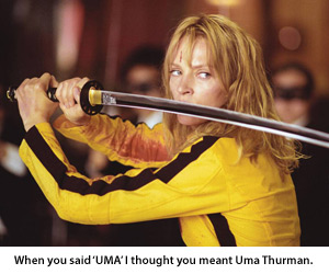 UMA Thurman or Universal Mobile Access?