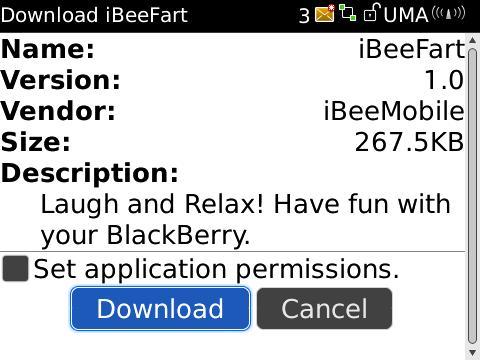 CrackBerry App Store Tutorial
