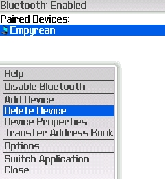 Delete BlackBerry