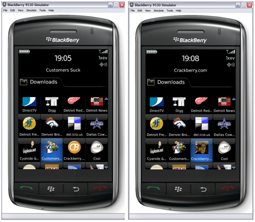 How to Create a BlackBerry Launcher