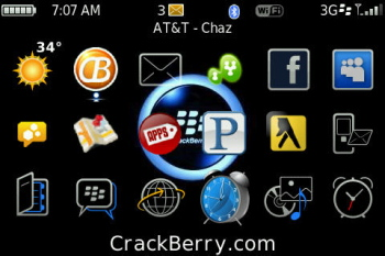CrackBerry Launcher