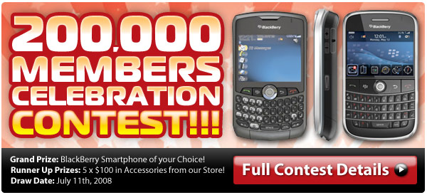 Win a New BlackBerry!