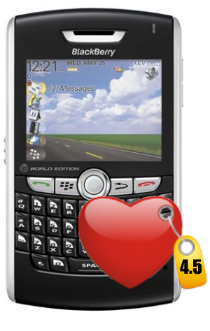 BlackBerry 8830 World Edition Gets 4.5