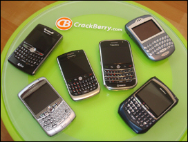 A whole lot of full-QWERTY BlackBerry goodness