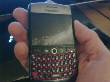 ColorWare BlackBerry Curve 8900