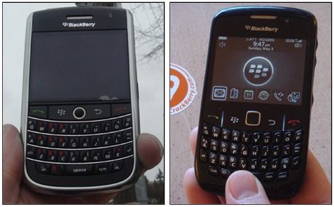 BlackBerry 9630 and 8520 Release Date Speculation