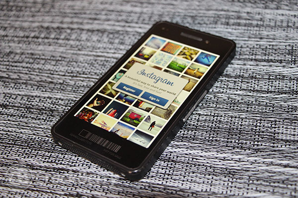 Instagram coming to BlackBerry 10... yeah, it'll happen.