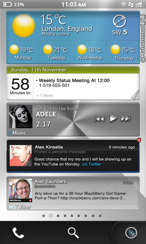 InterActive Frames for BlackBerry 11