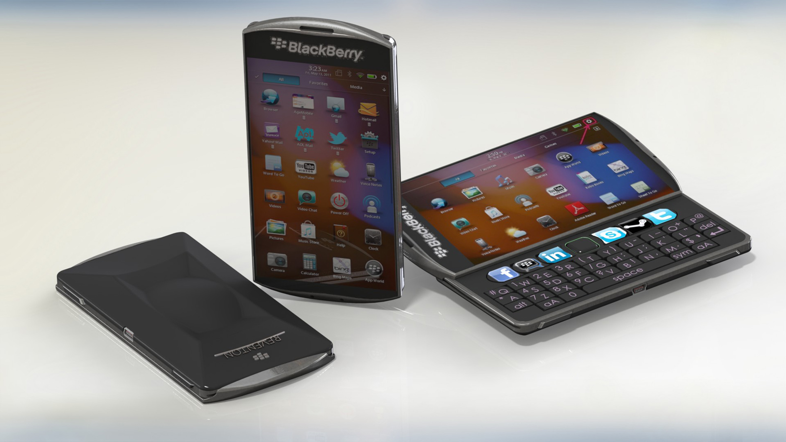 Two New Dreamberry Blackberry 11 Slider Concepts Emerge