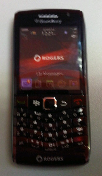 Rogers BlackBerry Pearl 9100
