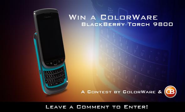 ColorWare BlackBerry Torch Contest!