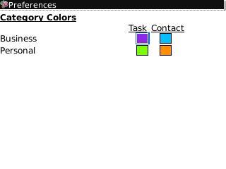 Agendus Category Colors