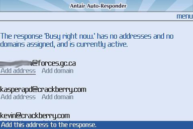 Antair Email Auto-Responder